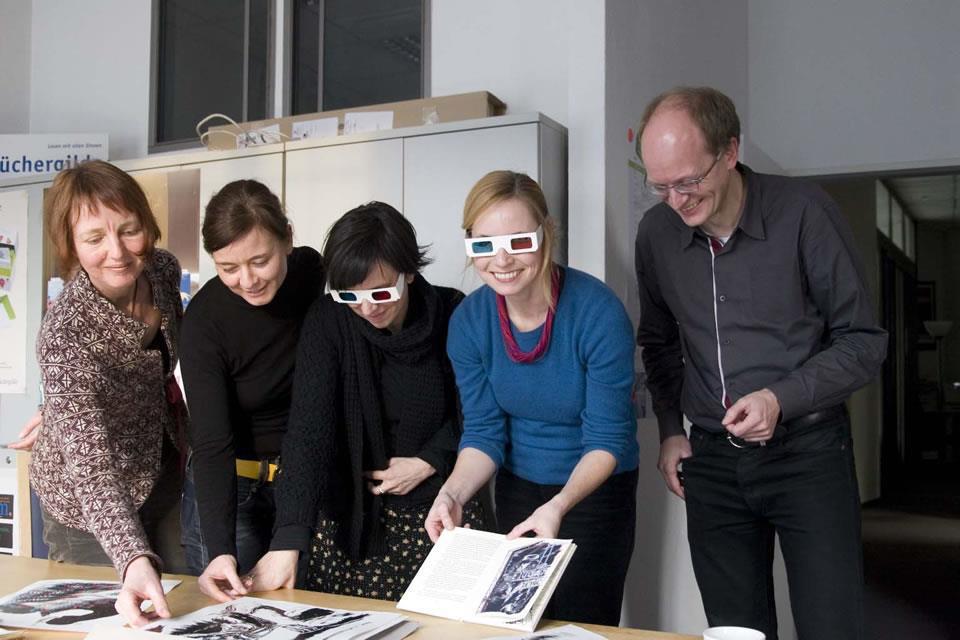 Mitglieder der Jury des Gestalterpreis 2012.